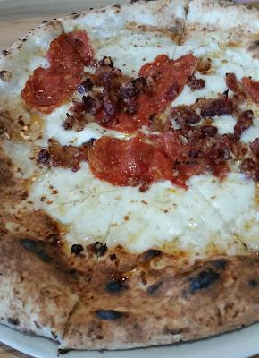 Cane Rosso Honey Bastard pizza