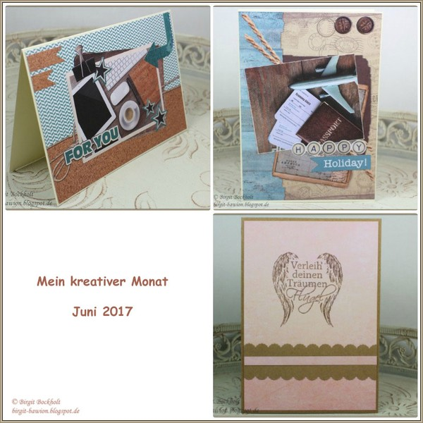 Mein kreativer Monat - Juni 2017