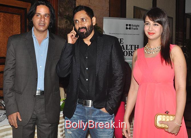Rahul Roy, Parvin Dabas, Preeti Jhangiani., Divya Khosla Kumar, Tisca Chopra at a fashion show