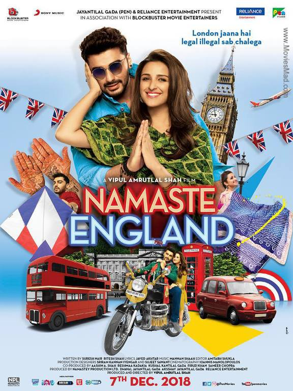 Namaste England Official Poster
