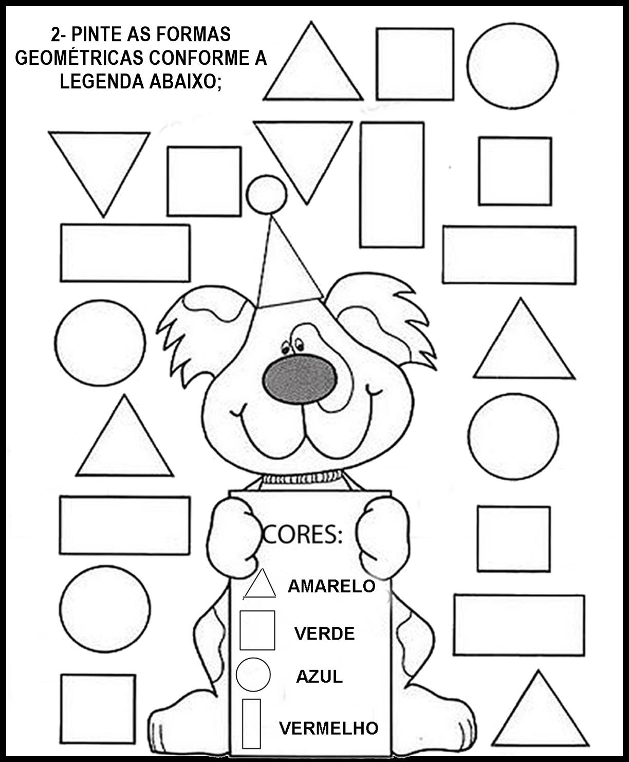 Formas GeoméTricas EducaçãO Infantil HV14