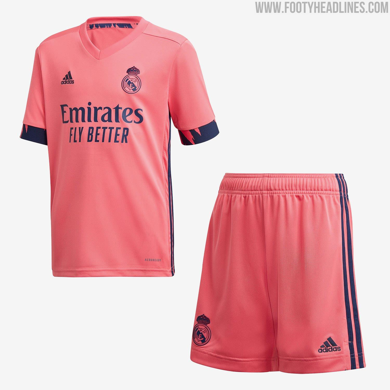 Cleaner And Better? Adidas Real Madrid 20-21 Home Kit ...