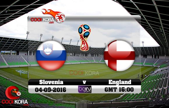 مشاهدة مباراة سلوفاكيا وإنجلترا اليوم 4-9-2016 تصفيات كأس العالم