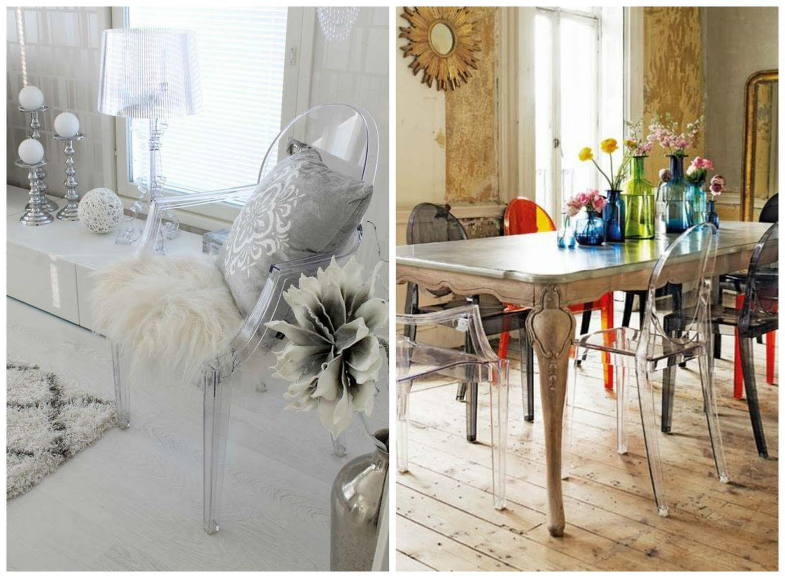 Silla Ghost Philippe Starck Blog And Coffee Decoghost World By Kartell