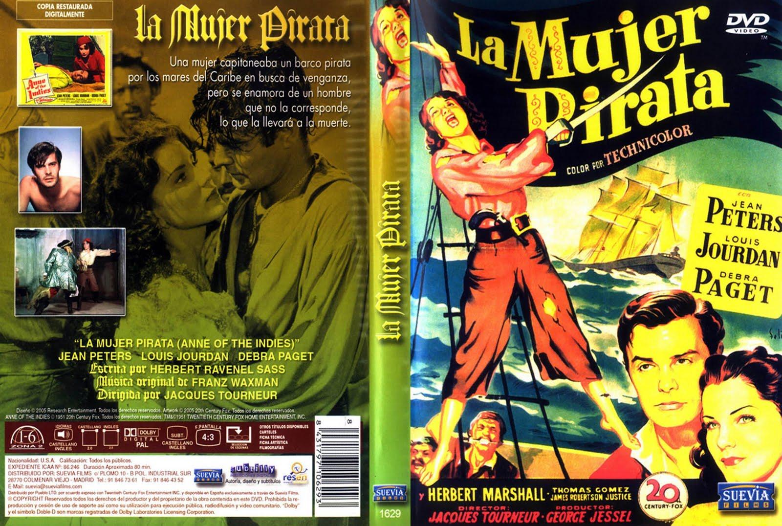 La mujer pirata ( 1951 ) Dual con subtítulos DescargaCineClasico.Net