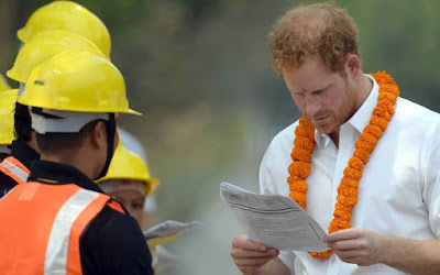 uk prince harry extends his nepal visit