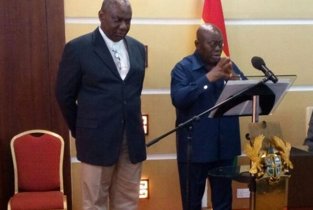 President Akufo-Addo relieves Energy Minister Boakye Agyarko of his position