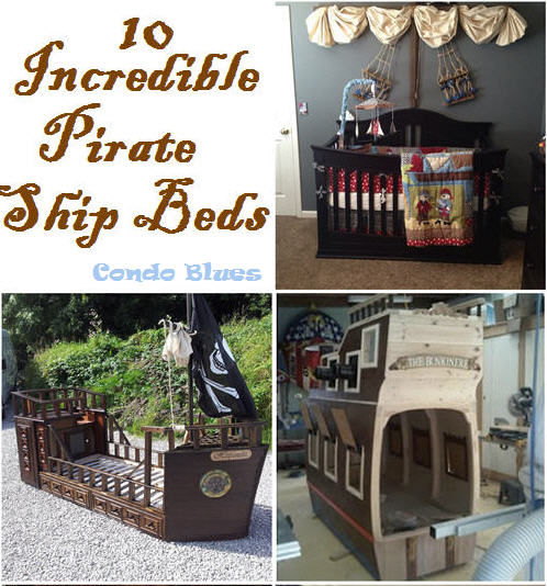 10 Incredible Pirate Ship Beds