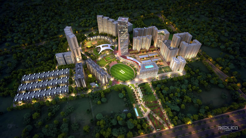 replica virtuals pvt ltd 3d architectural visualization company in
