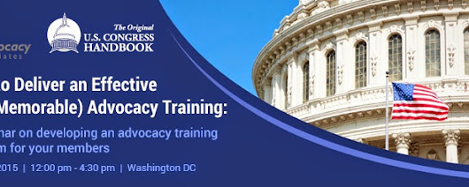 Learn How to Effectively Train Your Advocates!