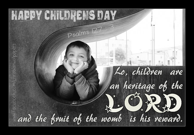 Children's Day Bible Verse Greetings