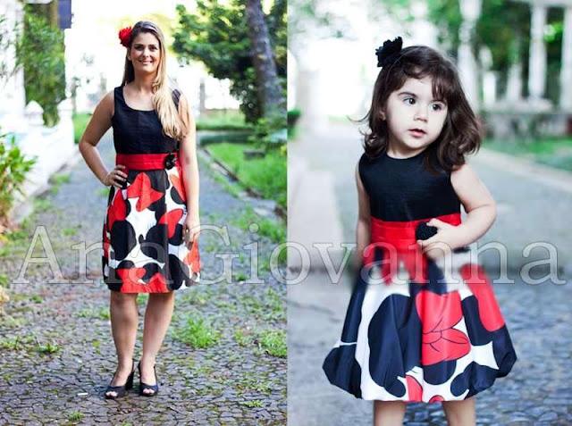 Vestidos Minnie Ana Giovanne, vestidos infantil de festa
