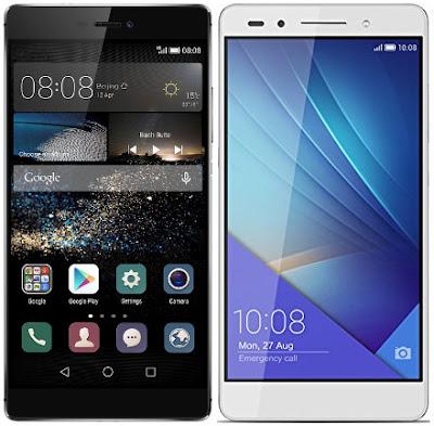 Huawei P8 vs Huawei Honor 7