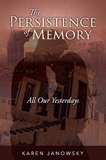 The Persistence of Memory Book 2 - a contemporary fantasy romance book promotion Karen Janowsky