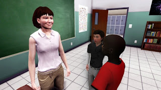 image of avatars in a virtual world