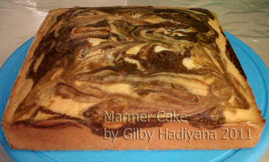 Resep Cake Pisang Ncc Fatmah Bahalwan: Gilby's Cake And Cookies: Marmer Cake