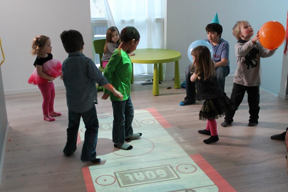 interactive games at preschools