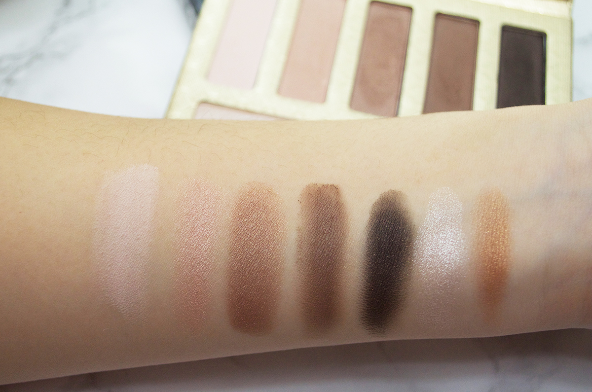 Lorac Riesling Romance Palette Swatches