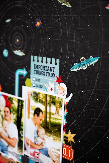 "Сarta bella paper ""Space Academy"" @mila_valentova"