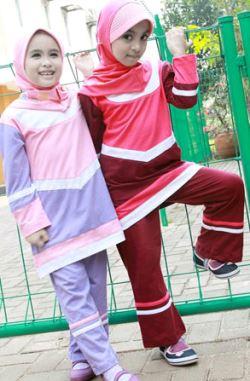 baju muslimah branded untuk anak perempuan