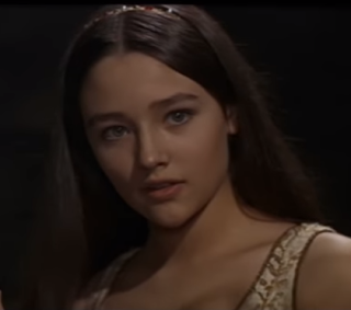A 17-year-old Olivia Hussey in Zeffirelli's Romeo and  Juliet, which established the director's reputation