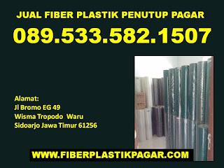 jual plastik tutup pagar Surabaya