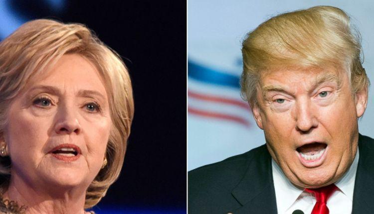 """هلاري كلينتون تصف ترامب بـ"""" الشخص القذر"""""""