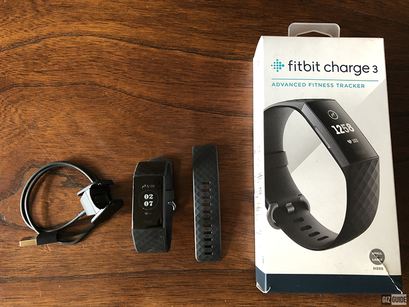 Fitbit Charge 3, unboxed!