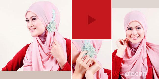 Cara Memakai Jilbab Sederhana Keren dan Istimewa