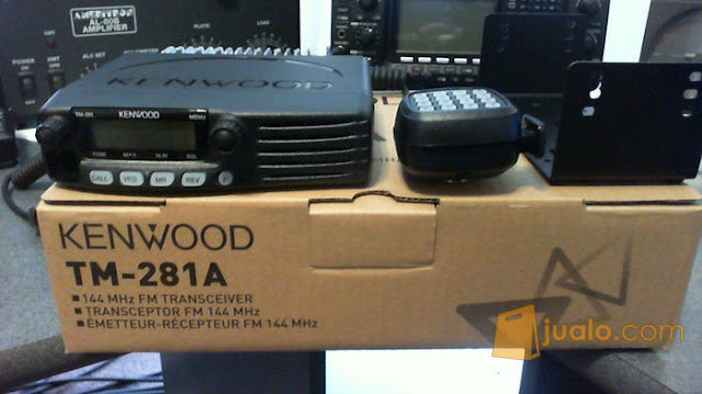 Kenwood TM-281A/E Mobile Radio