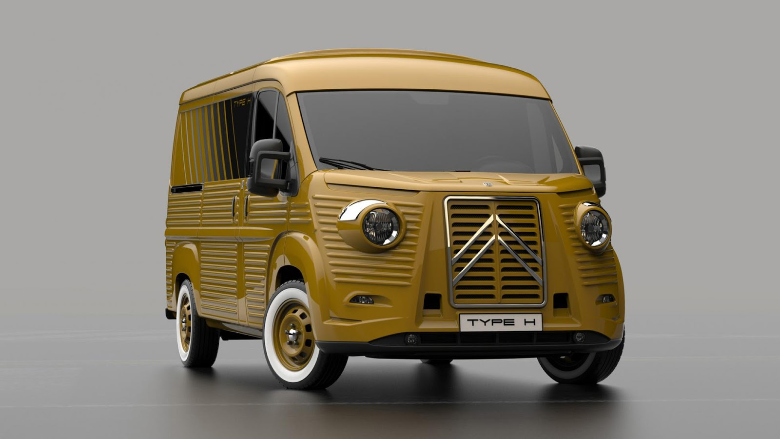 italian company unveils modern day citroen h van carscoops. Black Bedroom Furniture Sets. Home Design Ideas