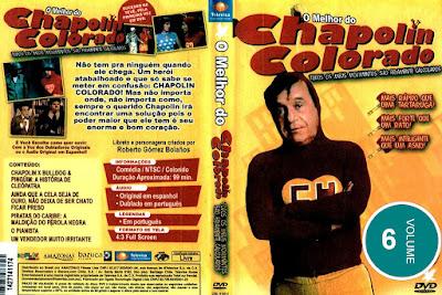 Série O Melhor do Chapolin Colorado Volume 6 DVD Capa