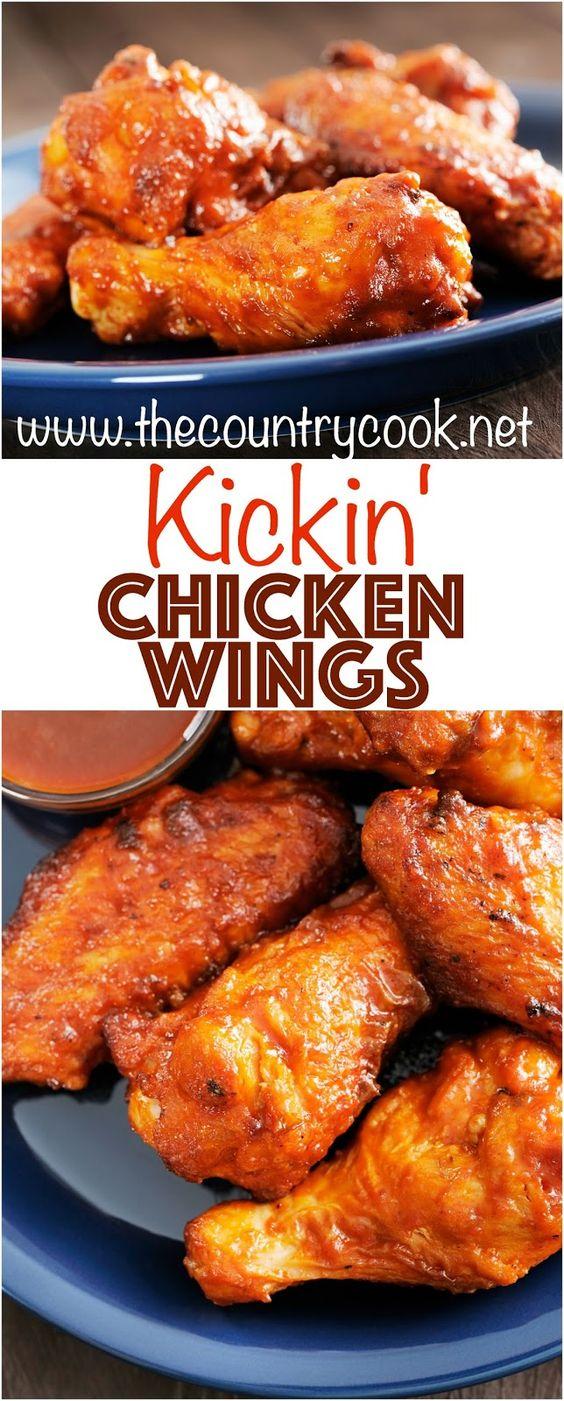 Kickin' Buffalo Chicken Wings