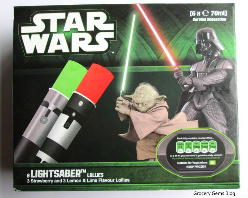 Grocery Gems Star Wars Lightsaber Ice Lollies