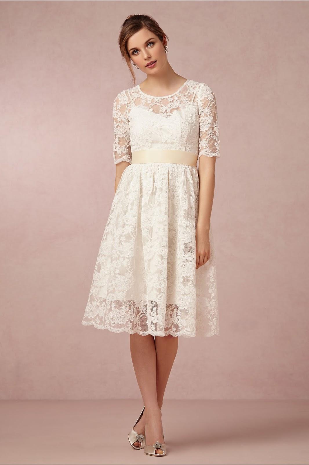 Vestido de novia cortos ¡10 Fotos a la moda! | Somos Novias
