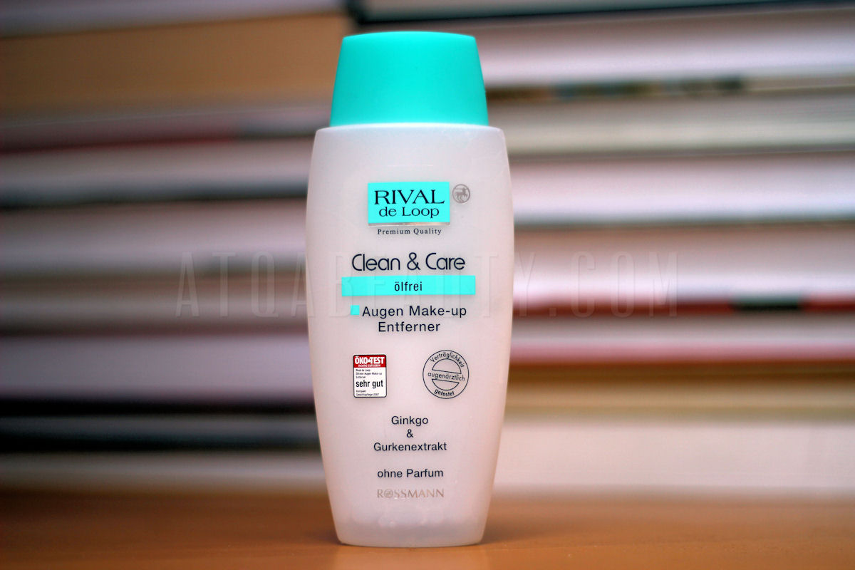 Pielęgnacja :: Niepozorny hit <br>(Rossmann, Rival de Loop, Clean & Care, Ölfreier Augen Make-Up Entferner)
