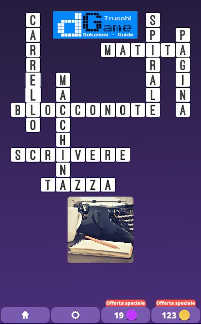 Soluzioni One Clue Crossword livello 24 schemi 15 (Cruciverba illustrato)    Parole e foto