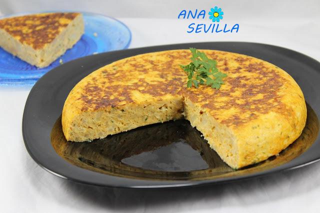 Tortilla de coliflor Ana Sevilla olla GM