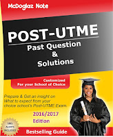 Post UTME Past Questions & Answers for All Nigerian Universities