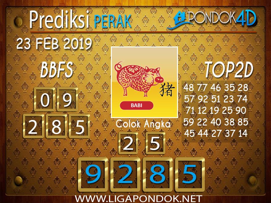 Prediksi Togel PERAK PONDOK4D 23 FEBRUARI 2019