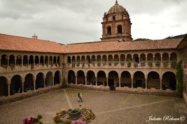 Temple du Soleil à Cusco