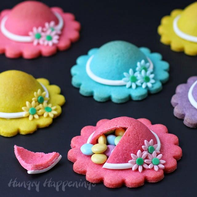 Ladies Hat Pinata Cookies Hungry Happenings Desserts
