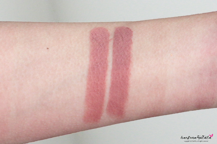 MAC Nude Lipstick Dupes: MAC Velvet Teddy vs Wet n Wild Bare It All