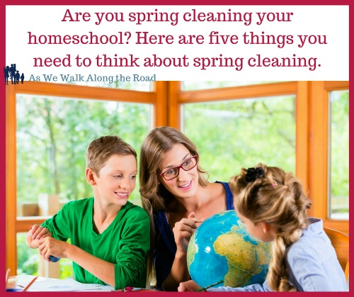 Five areas to clean and organize in your homeschool