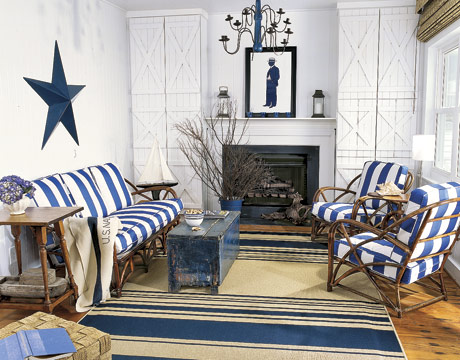 COUNTRY VILLA DECOR: Nautical Decor Ideas