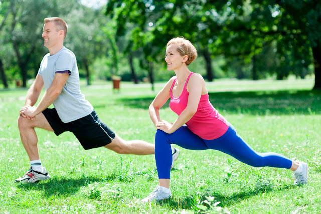 Exercícios fora da academia