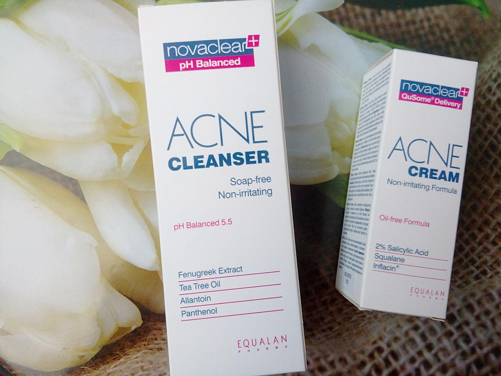 Novaclear Acne cream i Acne cleanser , czyli jak walczę z trądzikiem?