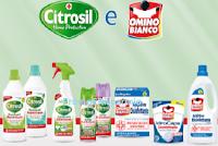 Logo Concorso ''Premiati con Citrosil HP2 Omino Bianco'' : vinci 80 buoni da 25€ Acqua&Sapone/ La Saponeria