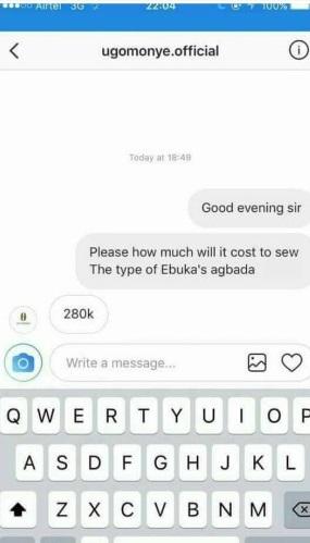 How Much Is Ebuka's Agbada