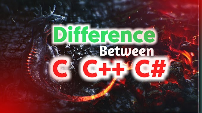 Distinction Between C, C++ and C# Programming Language